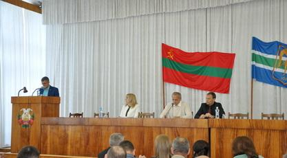 Состоялась очередная 21 сессия 25 созыва рыбницкого городского и районного Совета народных депутатов