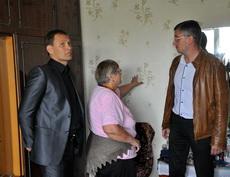 Вячеслав Фролов посетил квартиру семьи Мосийчук