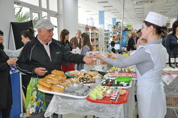 Дегустационная акция «Покупай приднестровское!» проходит в Рыбнице