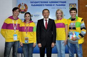 Глава госадминистрации встретился с участниками международного фестиваля молодежи и студентов в Сочи от Рыбницы