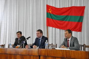 Председатель Правительства ПМР Александр Мартынов встретился с активом Рыбницы