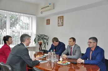 Глава госадминистрации встретился с заместителем главы Посольства Германии в РМ Флорианом Зайц