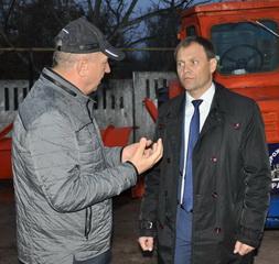 Вячеслав Фролов проверил готовность дорожной службы к зиме