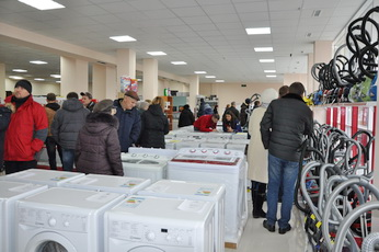 В Рыбнице после реконструкции открылся магазин «Хайтек»