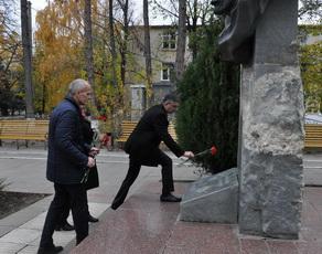 100-летие Великой октябрьской революции отметили в Рыбнице