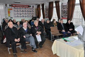 Юрий Молдовский принял участие в заседании президиума ОО «ОСТК «Держава»»