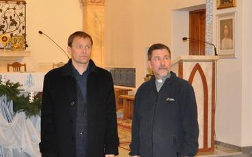 Вячеслав Фролов посетил рыбницкий костел
