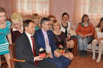 Вячеслав Фролов поздравил воспитанников школы-интерната с Новым годом
