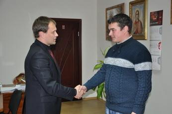 Глава госадминистрации поздравил Александра Патергина с днём рождения