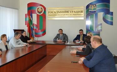 Вячеслав Фролов встретился с представителями рыбницких общественных организаций