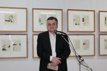 Персональная выставка Владимира Змеева открыта в Рыбнице