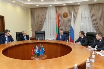 Экономика и социальная политика: глава рыбницкой администрации рассказал Президенту о ситуации в районе