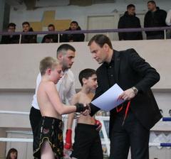 Вячеслав Фролов поприветствовал участников чемпионата по кикбоксингу