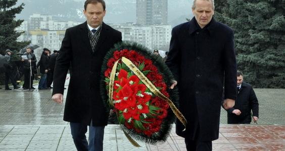 В Рыбнице состоялся митинг, посвящённый годовщине освобождения города