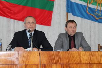 Глава госадминистрации принял участие в сессии рыбницкого горрайсовета