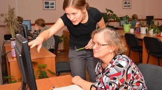 Рыбницкие пенсионеры могут бесплатно освоить навыки работы с  персональным компьютером