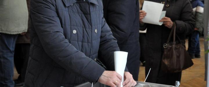 Глава госадминистрации принял участие в выборах Президента Российской Федерации