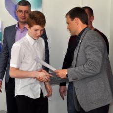 Вячеслав Фролов поздравил призёров чемпионата по боксу