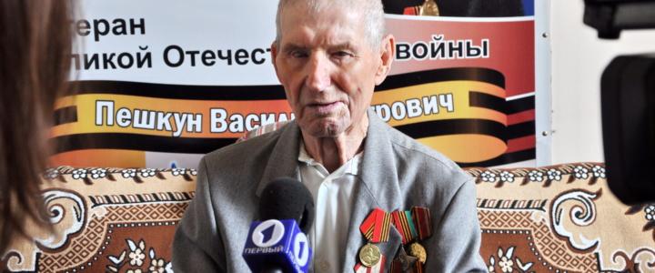 Вячеслав Фролов навестил ветеранов Великой Отечественной войны