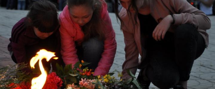"""Рыбничане приняли участие в акции """"Зажгите памяти свечу"""""""
