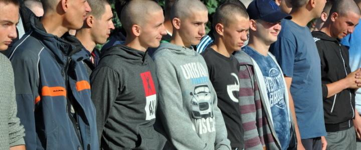 Юные рыбничане пополнили ряды Вооруженных сил ПМР