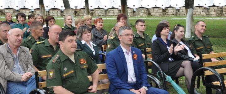 В Рыбницком районе состоялся концерт для военнослужащих