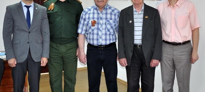 Глава города встретился с представителем Комитета памяти маршала Советского Союза Жукова