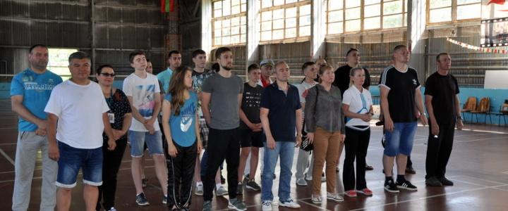 В Рыбнице состоялся X международный турнир по бадминтону