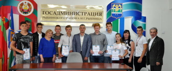 Заместитель главы госадминистрации Юрий Молдовский встретился с рыбницкими спортсменами