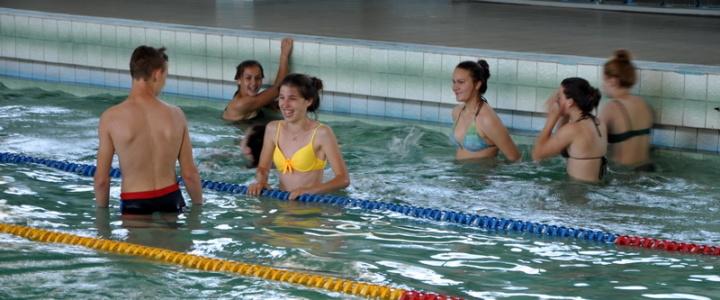 Воспитанники школы-интерната посетили бассейн