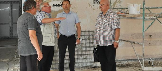 Вячеслав Фролов проинспектировал ход строительных работ в образовательных учреждениях города, в рамках реализации программы фонда капвложений