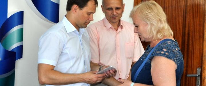 В Рыбнице защитникам Приднестровья вручили юбилейные медали