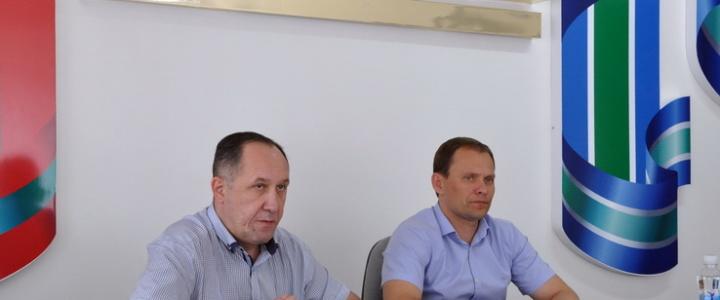 Вячеслав Фролов провел совещание по вопросу формирования Программы Фонда капитальных вложений на 2019-2021 год