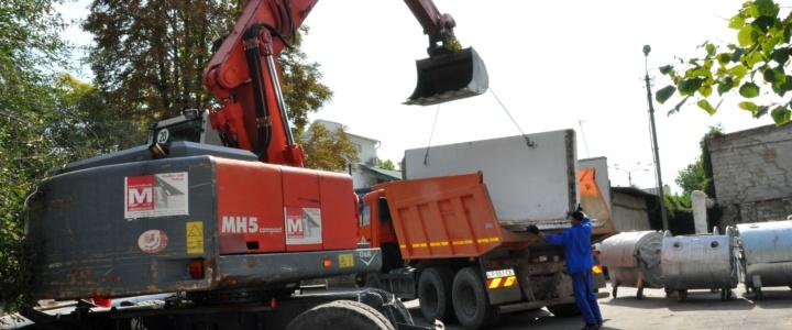В Рыбнице модернизируют контейнерные площадки