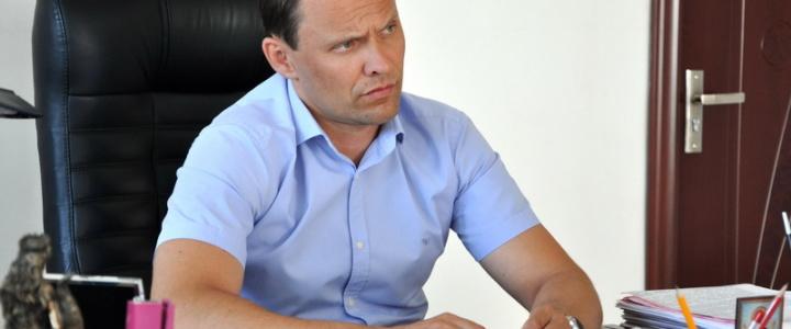 Вячеслав Фролов провёл еженедельный  приём граждан