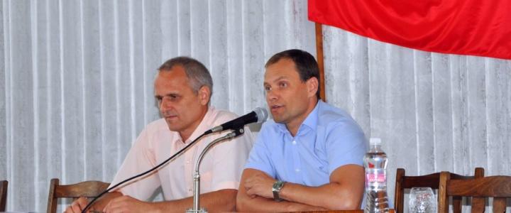 Вячеслав Фролов принял участие в работе сессии горрайсовета
