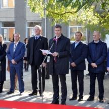 В Северной столице состоялось торжественное открытие спортивной площадки с уличными тренажерами (1)