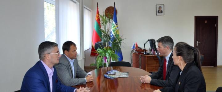 Глава госадминистрации встретился с Временно поверенным в делах Посольства Германии в Молдове