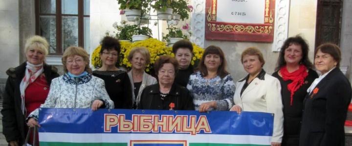Рыбничане посетили торжественное собрание, посвященное 100-летию ВЛКСМ