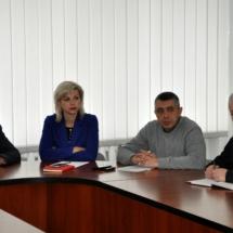 Вячеслав Фролов провёл совещание с руководителями государственных и муниципальных служб