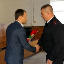Замминистра внутренних дел Рыбницкий отдел является одним из лучших в республике (14)