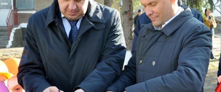 В селе Ержово запущена новая газовая котельная