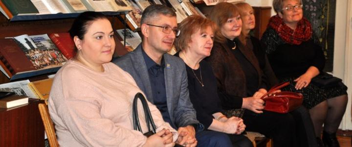 Юрий Молдовский принял участие в презентации книги поэтессы Марины Сычевой