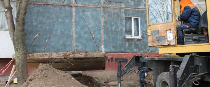 В Рыбнице продолжается реконструкция сетей горячего водоснабжения