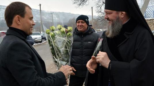 Архиепископ Тираспольский и Дубоссарский Савва посетил село Строенцы