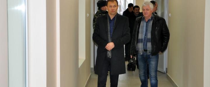 Вячеслав Фролов посетил инфекционное отделение Рыбницкой больницы