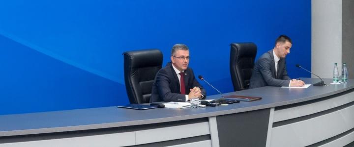 Глава рыбницкой госадминистрации посетил пресс-конференцию Президента