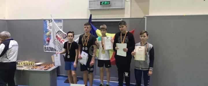 Рыбницкие бадминтонисты заняли призовые места на Чемпионате Молдовы