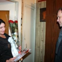 Вячеслав Фролов посетил семьи, в которых в праздничные дни появились новорожденные (3)