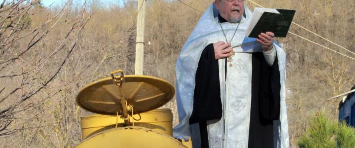 В Рыбнице отмечают православный праздник Крещение Господне